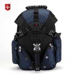 SwiSS backpackS online shopping - 2017 Swiss Waterproof Travel Bags Laptop Backpack Multifunctional Schoolbag Waterproof Ocford fabric Men s Backpack maleMX190903