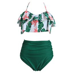 $enCountryForm.capitalKeyWord UK - High Waist Bikini Sexy 3XL Female Swimsuit 2019 Plus Size Swimwear Women Brazilian Push Up Bikinis Set Swimming for Bathing Suit