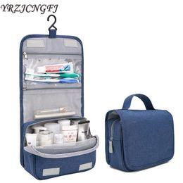 handbag making kit 2019 - Waterproof Travel Toiletry Kit Bag For Women Men Makeup Bag Carry On Bathroom Hanging Make Up Organizer Case Wash Pouch