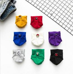 $enCountryForm.capitalKeyWord Australia - Trend female models super fire small eyes boat socks cute cartoon cotton socks spring thin section wholesale