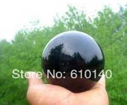 Large Ball Spheres Australia - New++ SCY Natural Black Obsidian Sphere Large Crystal Ball Healing Stone