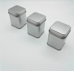 Tea caddies boxes online shopping - portable travel Tea box Tin Metal Cans Storage Bottles Jars Metal Cans Tea Caddy Mini Candy