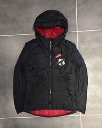 Wholesale padded windbreaker resale online – Hot Winter Designer Mens Brand Cotton padded Coat Windbreaker Jackets Keep Warm Balls Hoodies Sports Casual S XL Coat Brand B101439Q