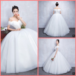 Short Puffy Wedding Gowns Cap Sleeve Australia - Robe de mariage ball gown white lace layered stylis wedding dresses off the shoulder short sleeve v neck princess puffy wedding gowns 2019
