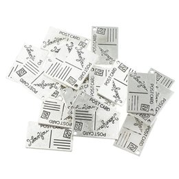 $enCountryForm.capitalKeyWord Australia - Pack of Loose Bulk Jewelry Findings Charm Pendants Vintage Alloy Findings For Jewelry Making Supplies Necklace Bracelet Silver