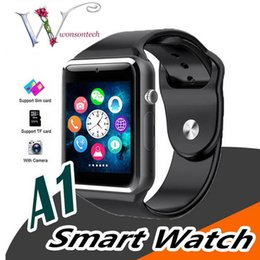 $enCountryForm.capitalKeyWord Australia - Bluetooth Smart Watch A1 WristWatch Men Sport iwatch style watch for IOS Apple Android Samsung can record the sleep state Smart watch