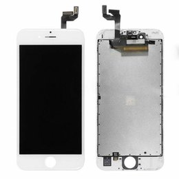 Iphone Screen Testing Australia - Einpassung For iPhone 6 plus Super A + LCD Display High Brightness Pass Sunglasses Test Touch Digitizer Complete Screen Full Assembly