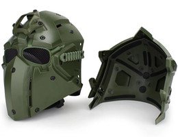 $enCountryForm.capitalKeyWord NZ - Tactical OBSIDIAN GREEN GOBL TERMINATOR Helmet Mask goggle for Hunting Paintball Cosplay Movie Prop