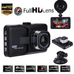 Venta al por mayor de Envío gratis 3 pulgadas Full HD 1080P coche de manejo de automóviles, Vehículo Dashcam con detección de movimiento, Sensor de visión de la noche de IR