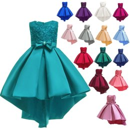 $enCountryForm.capitalKeyWord Australia - European & American Style Girls Ball Gown Evening Dresses Lace Princess Dresses Kids Wedding Dresses Party Costumes for Children