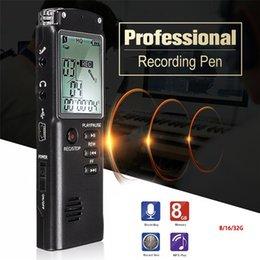 $enCountryForm.capitalKeyWord Australia - VAR VOR System Digital Audio Voice Recorder 32G Rechargeable Recording Pen Dictaphone Telephone MP3 Player Wholesale Free Shiping