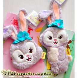 6f479fd4e457 Japan Duffy Bear Stellalou Plush Toy Cartoon Rabbit Coin Purse Stuffed  Animals Plush Wallet Stellalou Friend Duffy Bear bag Gift