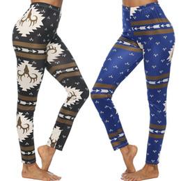 $enCountryForm.capitalKeyWord Australia - Zixi Pydi European Ladies Leisure Pencil Ninth Pants Women's Waistline Jeans Printed Leggings Milk Silk Close-fitting Skinny Thin Trousers