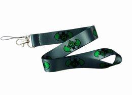 $enCountryForm.capitalKeyWord UK - Cartoon grey green Batman logo Straps Lanyard ID Badge Holders Mobile Neck Key chain
