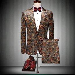 $enCountryForm.capitalKeyWord Australia - High Quality Men Dress Suit Asian Size S M L XL 4XL 5XL Business Banquet Men Suit Jacket and Pants Fashion Wedding Suits