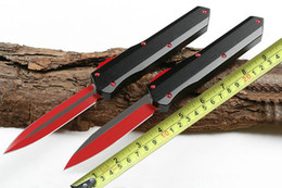 Doubles action knives online shopping - A3 out the front Knife CR17 Blade Double Action Automatic Tactical Camping Hunting knives Outdoor Survival Hiking knif With Tool P799Q