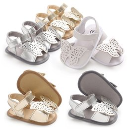 c913632e2b00 Shoe Sole patternS online shopping - Cute Infant Baby Butterfly Sandals  Girls Summer Sandals Newborn Baby