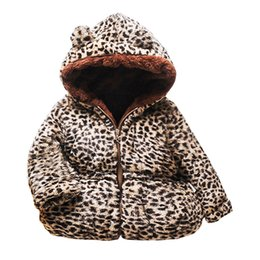 Spring ear online shopping - Toddler Kids Baby Gril Boy Cute Ear Zipper Solid Thick Hooded Coat Warm Outwear sizes t Long Children Outerwear