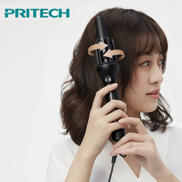 auto curls hair NZ - Pritech Automatic Rotating Hair Curler Household&travel Ceramic Curling Iron For The Lazy Fast Heating Auto Styling ToolsMX190820