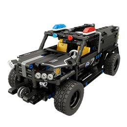 China Newest Technic Vehicle Radio Remote Control Cars RC Car Building Blocks Transformtion Series Truck Offroad SUV DIY Toys For Kids supplier block toys vehicles suppliers