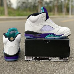 Fresh Prince Fashion Australia - Prince Fresh NRG Basketball Shoes 5 No Shoelace Purple Grape Fashion Leading Brand Designer TOP Mens Sports Sneakers