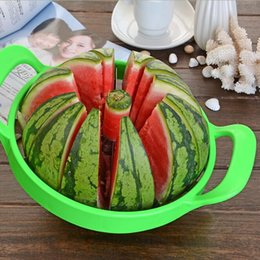 Cutter Fruit Watermelon Australia - Summer Watermelon Cutter Convenient Kitchen Cooking Fruit Cutting Tools Watermelon Slicer Fruit Cutter Kitchen Tools CCA9748 12pcs p
