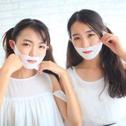 Venta al por mayor de 600PCS V-Shape Facial Máscara facial delgada Vendaje adelgazante Cuidado de la piel Forma de cinturón Elevación Reducir Doble mentón Máscara facial Banda de adelgazamiento facial