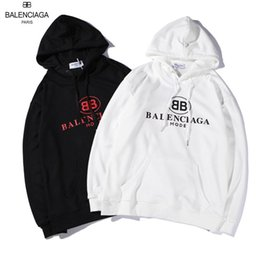 Fighting Australia - RT89 YSL BALENCIAGA brand hoodies long sleeves fight color kanye west Men's Hoodies men and women loose couple sweater