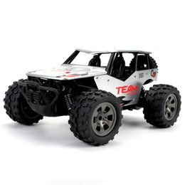 Eléctrico Metal RC Buggy 1/18 RC Car, 2.4 Ghz Control Remoto Off Road Truck RC Rock Crawler Monster Truck RTR Desert Car en venta