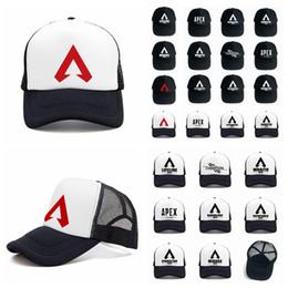 1ab25d73a189 Apex legends game cap 24styles summer mesh outdoor baseball cap hip hop hat  popular sun hat man women AAA1932