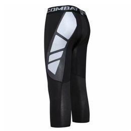Tight Plus Sized Leggings Australia - Compression Pants Running Tights Men Basketball Football Training Trousers Gym Leggings Men Bodybuilding Jogging Pants Plus Size