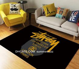 Luxury Kitchens Designs Australia - 80*120cm Creatives Brand Gift Terrific Luxury Design Home Furnishing Bedroom Door Mat Carpet Living Room Kitchen Floor Doormat Wholesale
