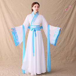 Wholesale hanfu clothing costume for sale - Group buy Adult Children Festival Outfit Dance Costumes Hanfu Women Fairy Chinese New Year Dress Chinese Traditional Clothing for Woman