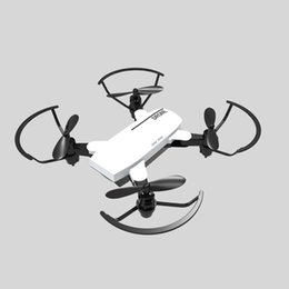 Helicopters Toys Camera Australia - RC Helicopter 0.3M 2M HD Camera Drone Mini Remote Control Toy Quadcopter Drones Altitude Hold One Key Return Foldable Airplanes