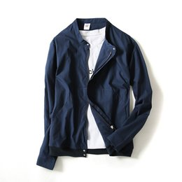 $enCountryForm.capitalKeyWord UK - 2019 the new spring and summer men is prevented bask in coat jacket use solid color zipper collar leisure coat