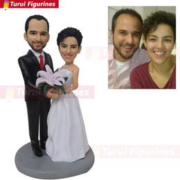 Wedding Figures Australia - weddingSpecial Gift Toys Mini Wax Figure Custom Birthday Bride And Groom wedding Gifts Ideas Wedding Unique handmade gift doll