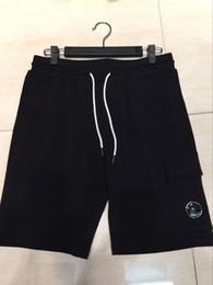 3 cores CP EMPRESA calções CP calças curtas casuais homens calças esportivas calções de jogging tamanho M-XXL venda por atacado