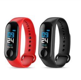 Smart Bracelet M3 0.96 Inch TFT Screen Heart Rate Blood Pressure Sleep Monitoring Step Count IP67 Waterproof