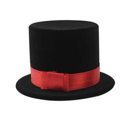 Custom Wedding Hats Australia - Jewelry Packaging Ring Pendant Box Organizer For Wedding Engagement Rings Lovely Top Hat shape Velvet Custom Jewelry 5*4cm