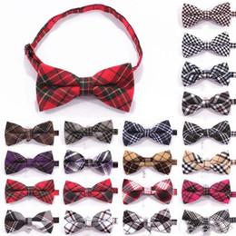 $enCountryForm.capitalKeyWord Australia - British Style Cotton Adjustable Bow Ties Men Classic Business Formal Bowknot Gentleman Party Tuxedo Suit Bowties 48 87mz I1