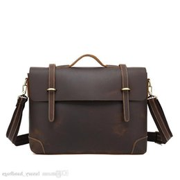 $enCountryForm.capitalKeyWord NZ - Briefcase Men S Bag Cowhide Leather Backpack More Pocket Top Quality Purse Designer Handbags Portable Genuine Leather Travel Bags