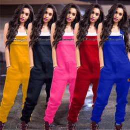 $enCountryForm.capitalKeyWord NZ - Women Embroidery Champions Letters Jumpsuit Casual Suspender Pants Fashion Overalls Short Sleeve Romper Brace Trousers S-2xl 5 Colors A3202