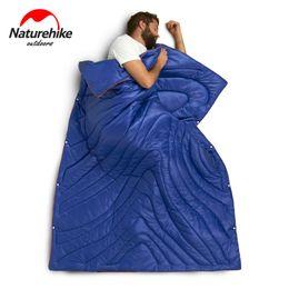 Naturehike ultralight outdoor sleepiNg bag online shopping - Naturehike Multifunction Portable Blanket Quilt Ultralight Outdoor Camping Travel In Envelope Cotton Sleeping Bag