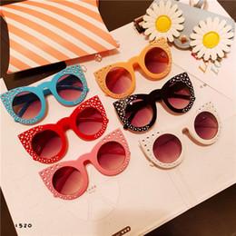 5436fb841fc EyEglass framEs rhinEstonEs online shopping - Children sunglasses color  kids rhinestones cat eyes sunglasses fashion girls