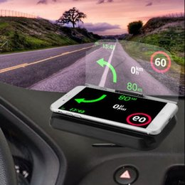 $enCountryForm.capitalKeyWord Australia - Upgraded Version Qi Charger Car Hud Head Up Navigation Display Holder Wireless Charging Dock With Led Indicator Light