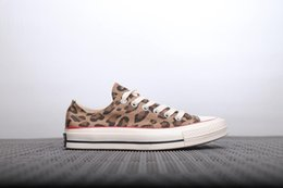 Leopard Print Cotton Fabric NZ - 2019 brand new leopard print canvas shoes women's casual shoes skateboarding outdoor recreation casual shoes US5~US11