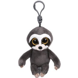 $enCountryForm.capitalKeyWord UK - Ty Beanie Boos Big Eyes Plush Dangler The Sloth Keychain Toy Doll