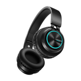 $enCountryForm.capitalKeyWord Australia - Wireless Gaming Headset Bluetooth Headphones Support 7 colors Glowing Headphone with Mic for Running for Phone PC MP3 Cell Phone Earphones