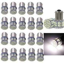 Cars Wholesale Prices Australia - 20Pcs Extremely Super Bright 1156 50 SMD LED Replacement Light Bulbs for RV Rear Light Brake Lights car accessories Lowest Price