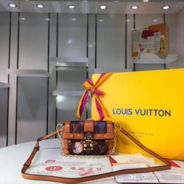 Großhandel 2018 neue Damen-Handtasche, Designertasche, offizielle Website-Eins-zu-Eins-Produktion, Ledertasche, klassisches Retro, Code: M63892.